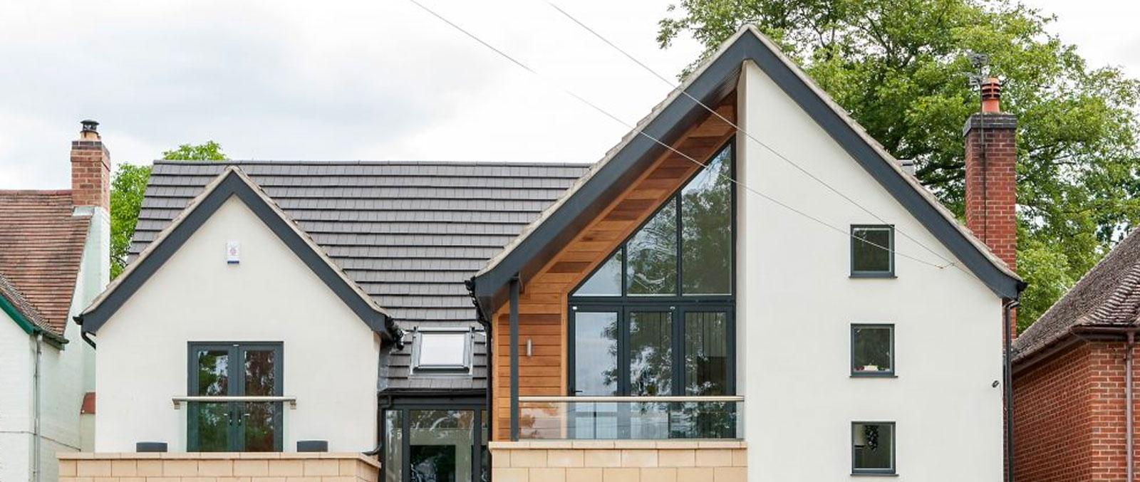 aluminium windows at home