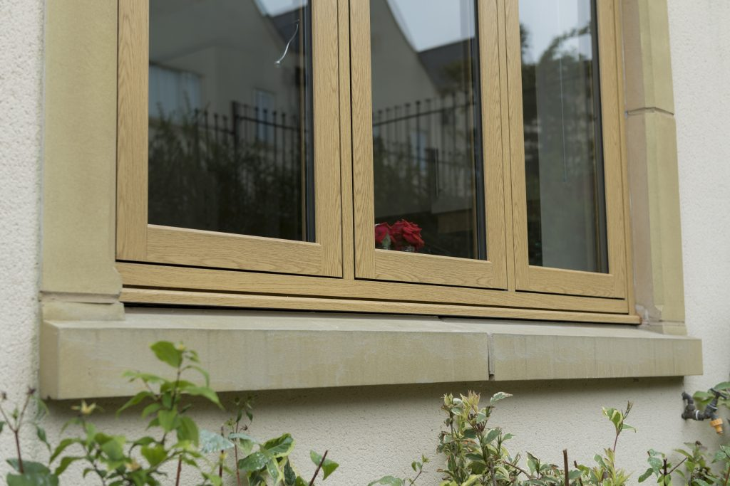 wooden Effect windows from Leicester Windows Supplies