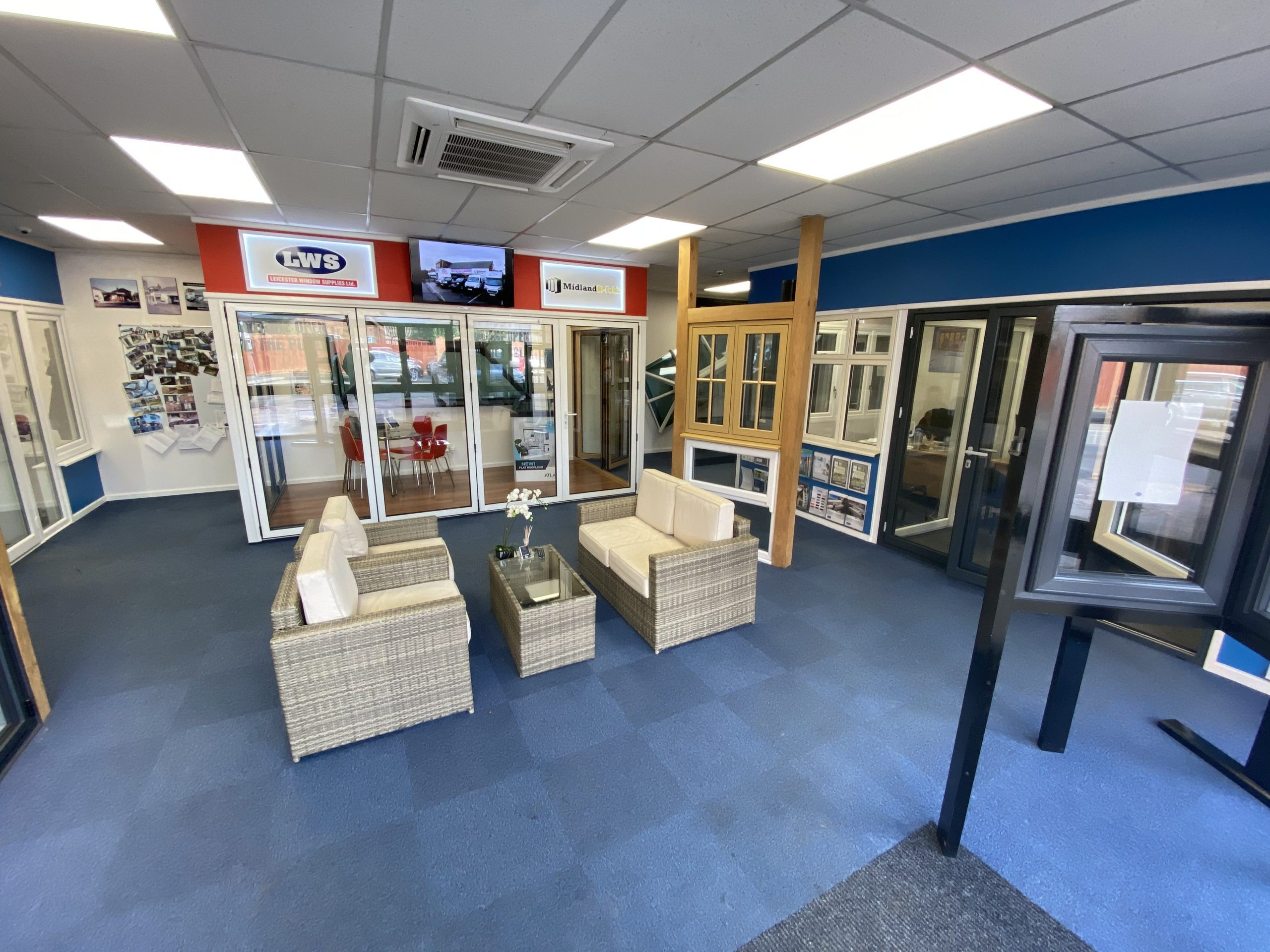 Leicester Windows Supplies Showroom Leicester Syston