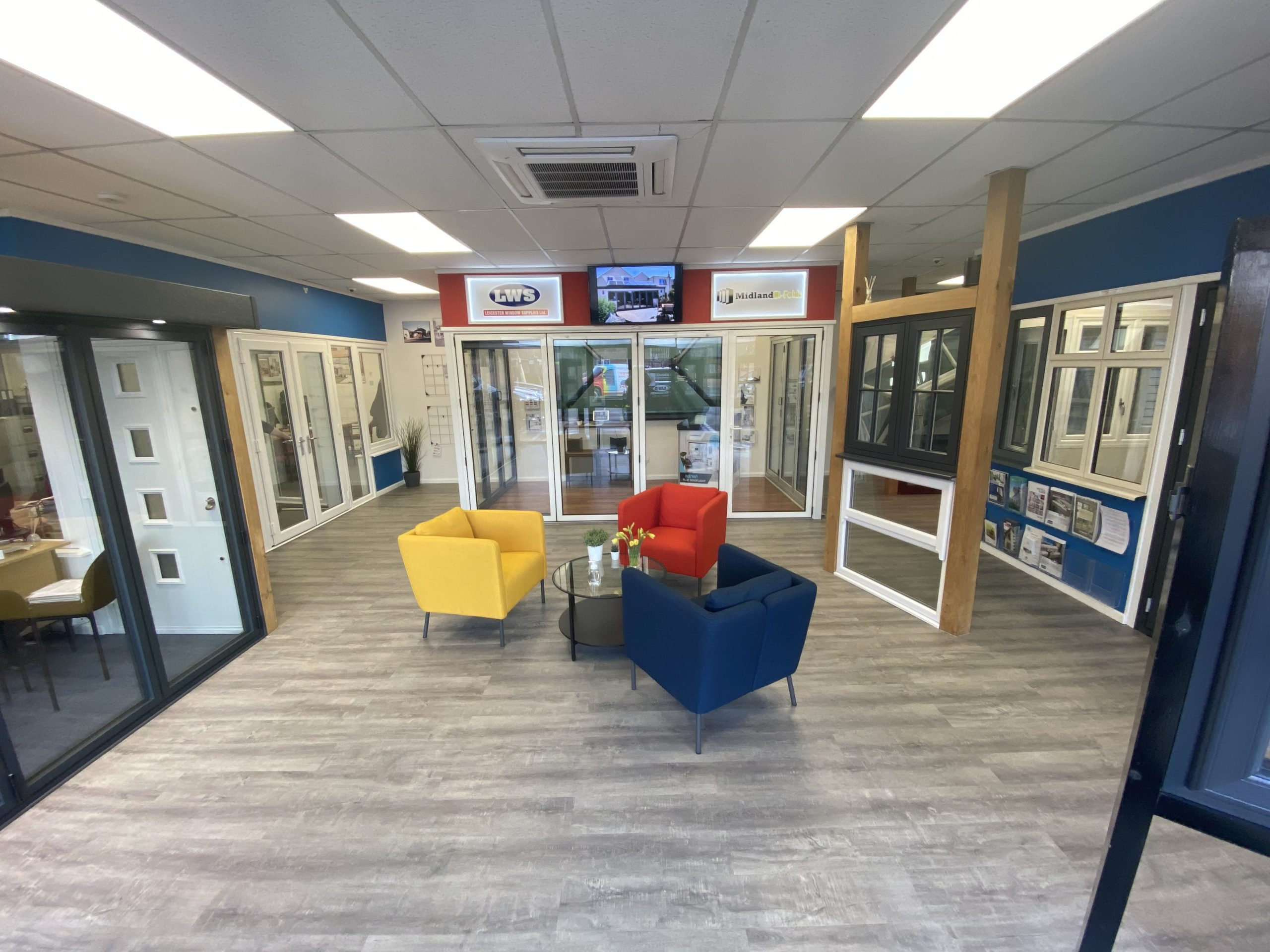 Leicester Windows Supplies New Windows Showroom in Syston